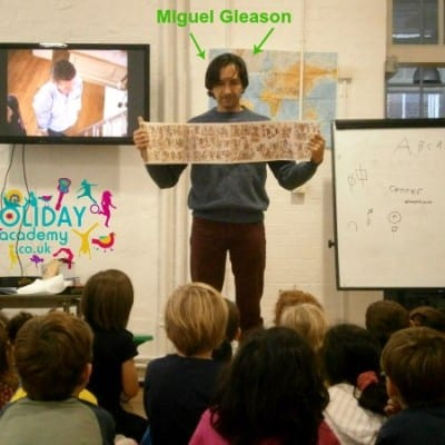 Miguel Gleason Workshop
