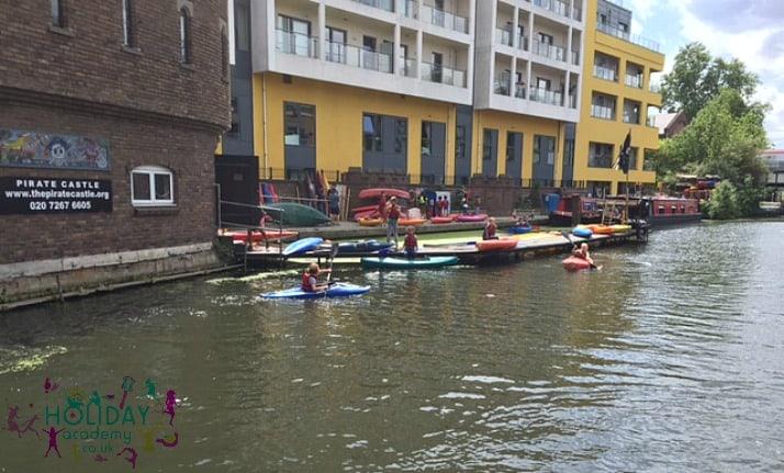Kayaking Camden