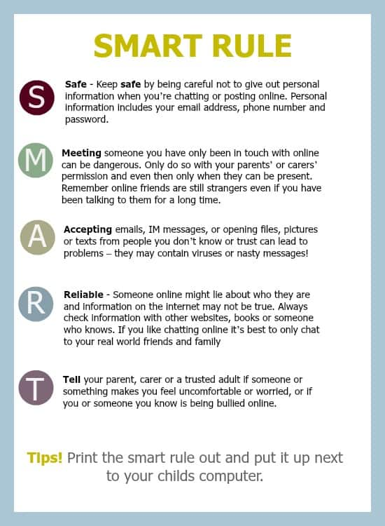 Online safety for children