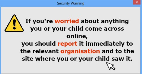 Online Security Children