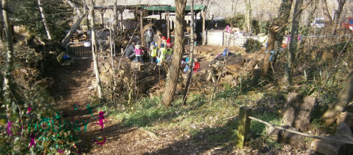 Forest School carousel