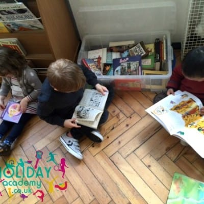Book corner easter break 2016