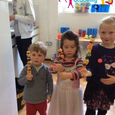 Fruit Kebabs Easter 2016 1